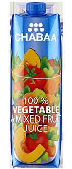 น้ำผักและผลไม้รวมแท้ 100%
