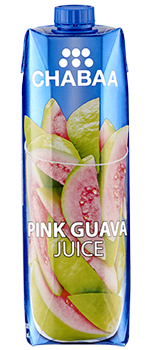 น้ำฝรั่งสีชมพู ผลไม้แท้ พร้อมดื่ม 100%