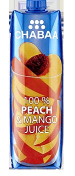 น้ำพีชผสมมะม่วง ผลไม้แท้ พร้อมดื่ม 100%