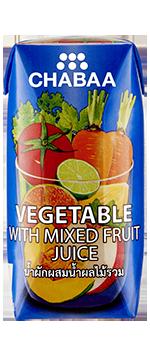 น้ำผักผสมน้ำผลไม้รวมแท้ 100% พร้อมดื่ม กล่องเล็ก