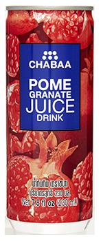 น้ำทับทิม น้ำผลไม้แท้แบบกระป๋อง พร้อมดื่ม
